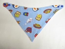 SALE! Breakfast knit - Bandana Dribble Bib