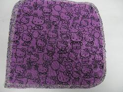 Purple Hello Kitty/Velour Wipe