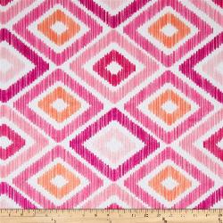 """3yd x 60"""" Pink Diamonds - MINKY fabric"""