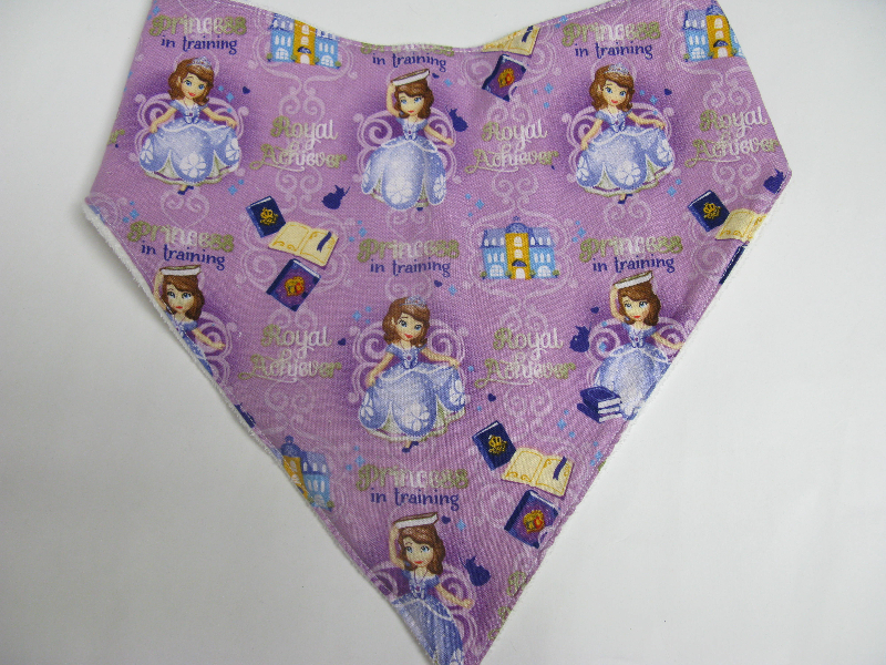 SALE! Sophia the First - Bandana Bib