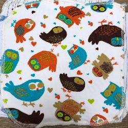 Retro Owls/Velour Wipe