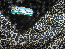 Dark Chocolate /w Cheetah Satin - 'Lankie - Regular $20