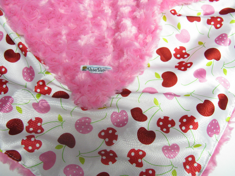 Fuchsia /w cherry satin - 'Lankie - Regular $20