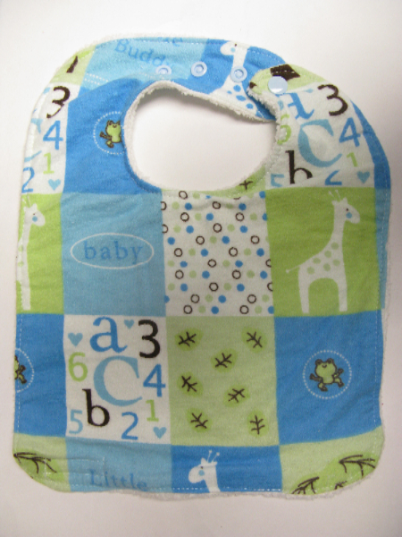 SALE! Baby Blocks Bib