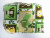 Green Zoo Animals/Travel Size Sherpa Wipe