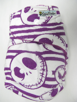 Purple Nightmare /w purple cotton velour - T&T multi-size