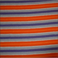 Orange Lavender Purple White Stripes