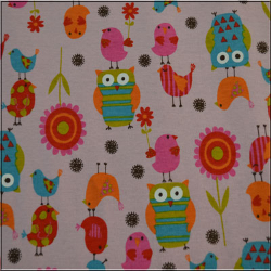 Owls Birds and Flowers 2