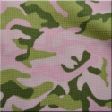 Pink Camo Thermo Lycra Knit