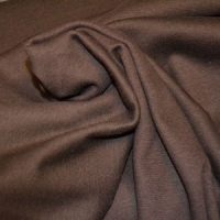 Med Brown Lycra Ribbing