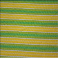 Yellow White Lime Green Stripes