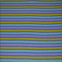 Lime Purple Lavender Agua Stripes