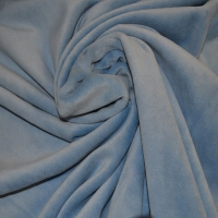 Ice Blue Velour