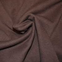 Dark Brown Lycra Ribbing