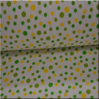 Lime n Yellow Dots
