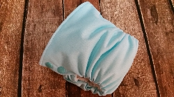 Organic Side Snap All in One Cloth Diaper Seaspray