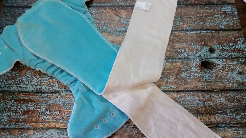 One Size Fitted Cloth Diaper Fido
