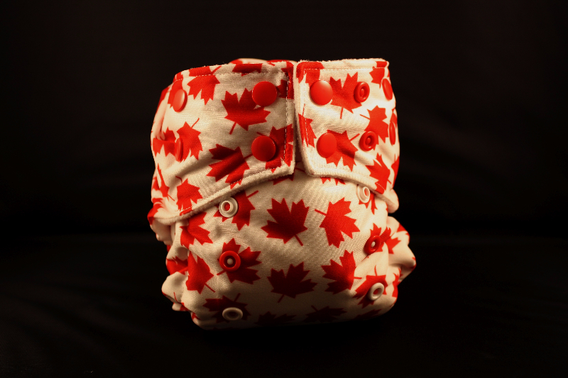 Oh Canada Diaper and Bag Set