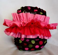 Custom MadiPOO Ruffle Bum Diaper