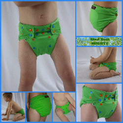 ***Custom Order*** Solid MIGHTY Mud Butt Cloth Diaper