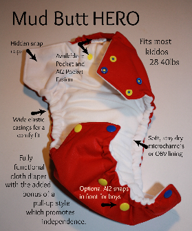 ***Custom Order*** Mud Butt Solid HERO