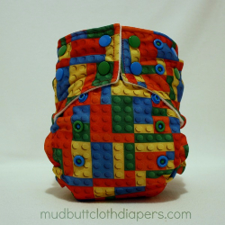 ***CUSTOM Order***  Mud Butt Original Print Diaper