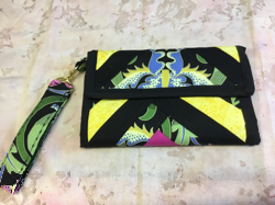 Wallet Black With strap