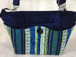 Navy 3- in- 1 Bag