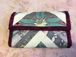 Wallet Hrey/Maroon