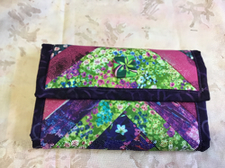 Wallet Green Floral
