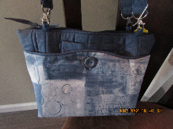 Hailey Bag Denim 3 - in-1