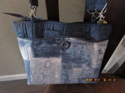 Hailey Bag Denim 3 - in-1