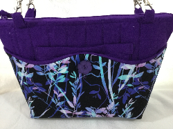 Purple 3 in 1 Bag