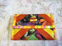 Wallet yellow/orange
