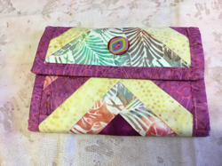 Wallet batik colors