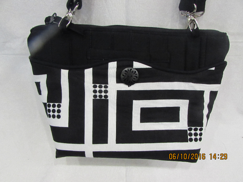 Camila Black 3 -in 1 Bag