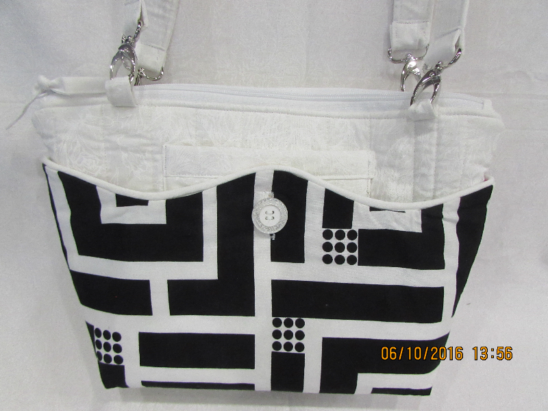 Abigail White 3 -in-1 Bag