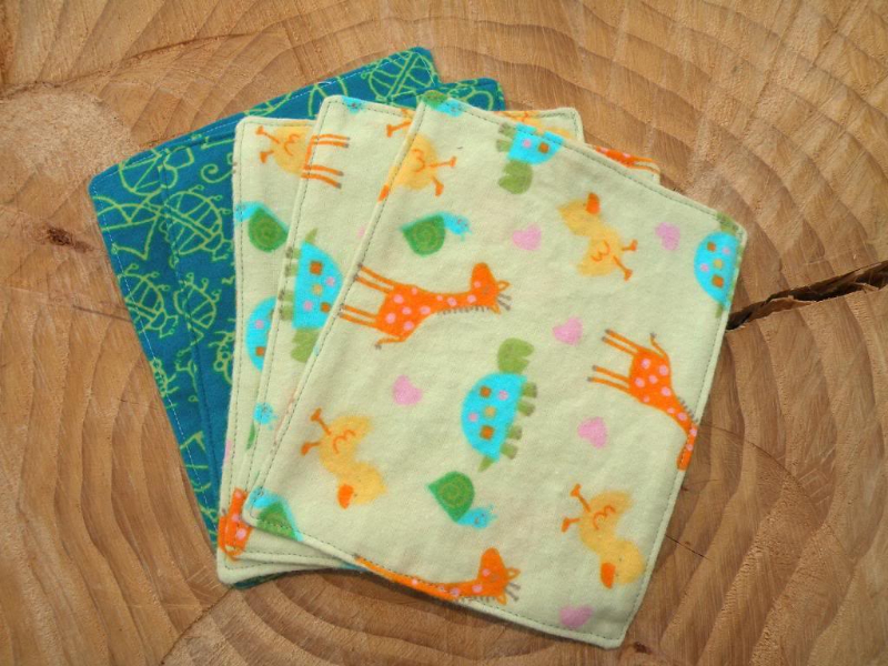 Willow Wipes Family Cloth & Baby Wipes in Kid prints, travel size