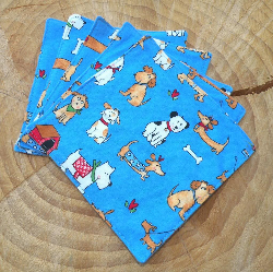 Willow Wipes Family Cloth & Baby Wipes in Doggy Pals