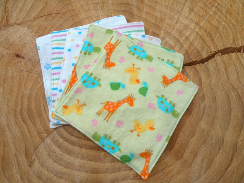 Willow Wipes Family Cloth & Baby Wipes in Nursery Mix