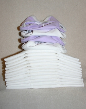 Newborn Prefold and Cover Set