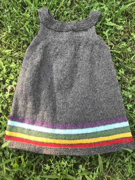 Custom Pinafore Dress