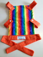 Rainbow Toy Front Carrier for your Little One to Carry their Toy Baby