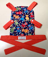 Sock Monkey Toy Front Carrier for your Little One to Carry their Toy Baby