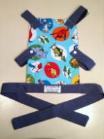 Seuss inspired Toy Front Carrier for your Little One to Carry their Toy Baby