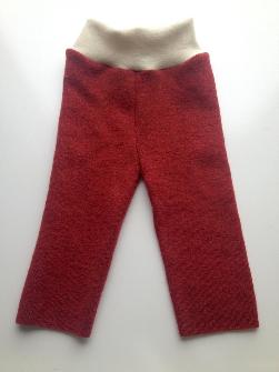 6-12+ months -Merino Wool Diaper Cover Longies - Recycled Longies - Medium
