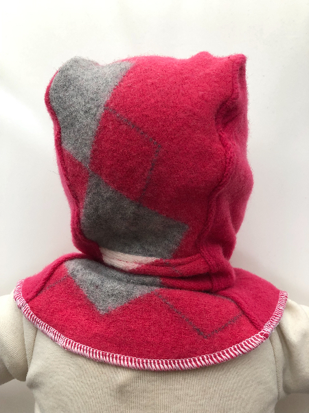 3-12 months - Upcycled Wool Balaclava