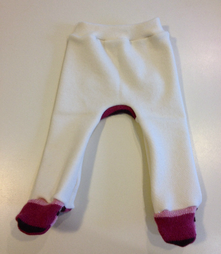 Wool Interlock Footies Jecaloones