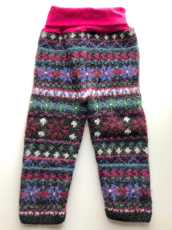 9-18 months+ Upcycled Wool Longies - Medium -Large.
