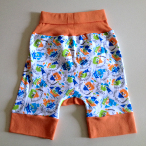 Ooga Booga Pirate Jecaloone Shorts - Size 1